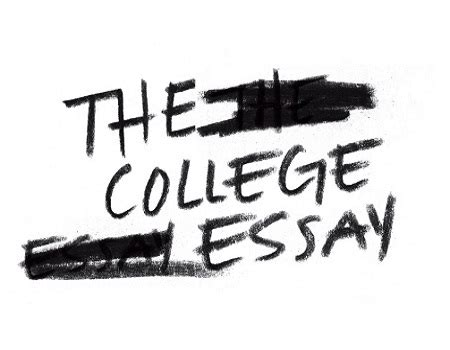 College essay on creative writing